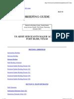 Usasma Briefing Guide w122