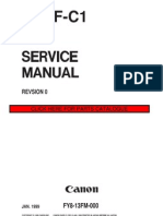 Canon DADF-C1 Service Manual Ingles