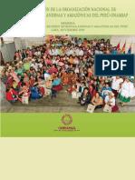 Memoria I Congreso Nacional de Mujeres Indígenas Andinas y Amazónicas del Perú