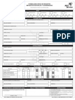 Formulario Unico de Registro (Abr_2012)