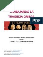 La Tragedia Griega - Secuencia didáctica