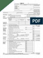 Vice-President Biden's 2011 Tax Return