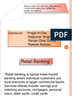 Competitive Analysis of Retail Banking, Market Penetration