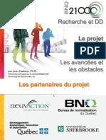 Forum EDS 2012 - Jean Cadieux