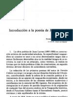 Aullón de Haro, Juan Larrea creacionismo Huidobro vanguaridas