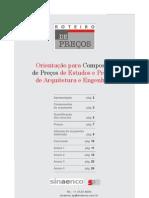 Precos Estudos e Projectos