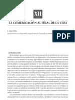 LA COMUNICACIÓN AL FINAL DE LA VIDA