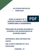 MANUAL DE BOAS PRÁTICAS DE FABRICAÇÃO
