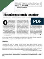 Prova Portugues Ingles Espan Biologia Quimica 20101 Tipo1