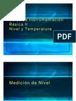 Curso de Instrumentacion Basica II Nivel - Temperatura