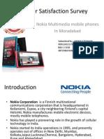 Consumer Satisfaction Survey of Nokia Mobile Phones