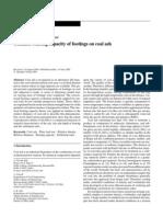Ultimate Bearing Capacity of Footings on Coal Ash (2005) GranularMatter