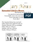 Library News April 2012