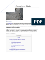 Aplicación de Geotextiles en Taludes