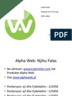 Trajnim Per Alpha Web