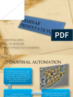 Seminar Presentation -Flexible Manufacturing
