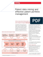 Patent Data Mining