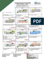 Calendario 2012 Aprovado Pelo Consepe