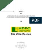 Hdfc Life Final Report