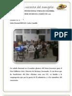 Informe REFAM a Marzo 2012 - Distrito 8
