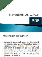 Prevención del cáncer