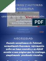 Exposición Buscadores de Internet...