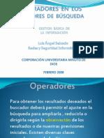 OPERADORES  EN  LOS  MOTORES  DE  BÚSQUEDA  (INTERNET)