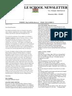 WS Newsletter March 2012