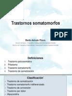 Clase Somatomorfos y Disociativos