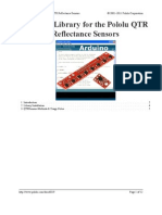 QTR Arduino Library[1] | Class (Computer Programming) | Integer
