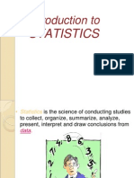 Introduction to STATISTICS-