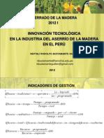 Aserrado de La Madera 2012 i - Clase 2