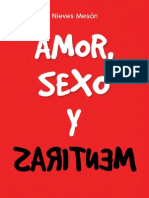 Primer Capitulo Amor Sexo Mentiras Nieves Meson Divalentis
