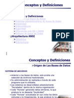 Conceptos y Definciones BD -I