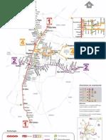 Mapa Metrobus