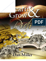 Learn & Grow Rich by Dan Miller