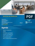 Servicios Plataforma 2011 2012