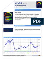 Stock Research Report for MDR as of 3/26/2012 - Chaikin Power Tools