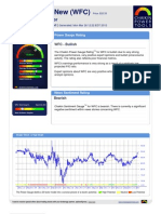 Stock Research Report for WFC as of 3/26/2012 - Chaikin Power Tools