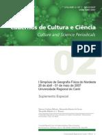 Análise Biofísica do município de Barra dos Couqeiros