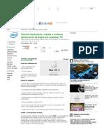 Olhar Digital- Tutorial Hackintosh- Instale o Sistema Operacional Da Apple Em Qualquer PC