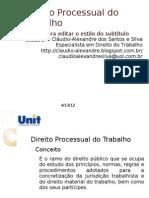 Direito Processual Do Trabalho - Esquema