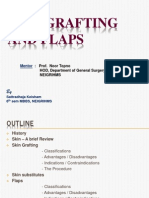 Skin Grafting and Flaps (complete presentation)