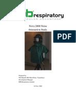 Nova 2000 Noise Attenuation Study