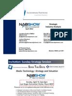 Silverwood Partners - NAB 2012 - Strategic Industry Analysis