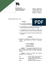 Reglamento Complementario2011