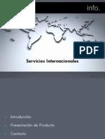 Presentación Servicios Internacionales