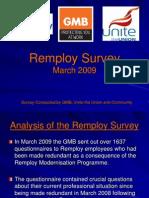 Remploy Survey March 2009