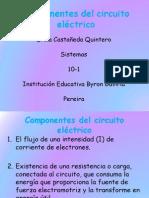 Componentes del circuito eléctrico