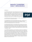 Comparación Contabilidad Financiera Y Administrativa